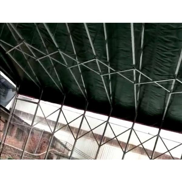 推拉棚厂家 大排档推拉篷 雨棚 遮阳棚 停车棚定制