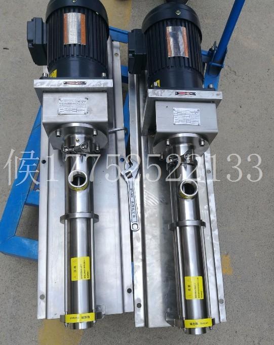 盾构机 泡沫系统 西派克螺杆泵 现货供应 型号规格齐全