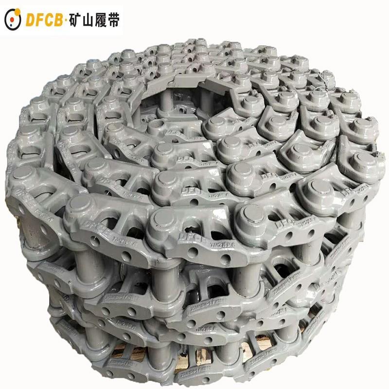 R360现代挖掘机链条 天磊DFCB矿山专用挖掘机链条厂家直销 支重轮引导轮驱动齿福建优质生产厂家
