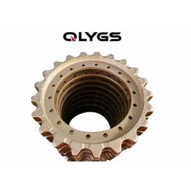厂家直销挖掘机四轮一带 EX200-5/EX60矿山专用链轨 支重轮 引导轮