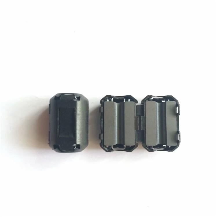 磁环 带壳磁环 定做夹扣式磁环特殊规格