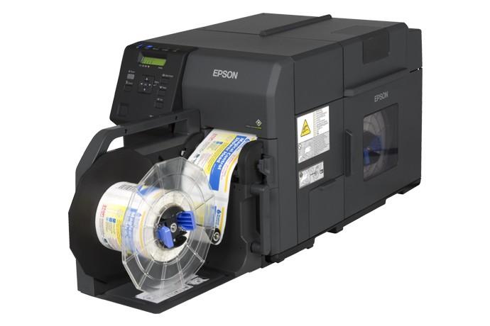 彩色标签打印机彩色不干胶打印机彩色商标印刷机