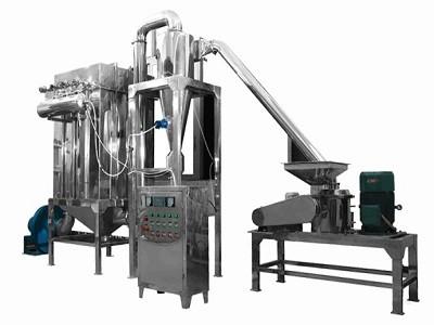 麦麸吸尘粉碎机 麦麸超微粉碎机 立式超细磨粉机 细度可调节