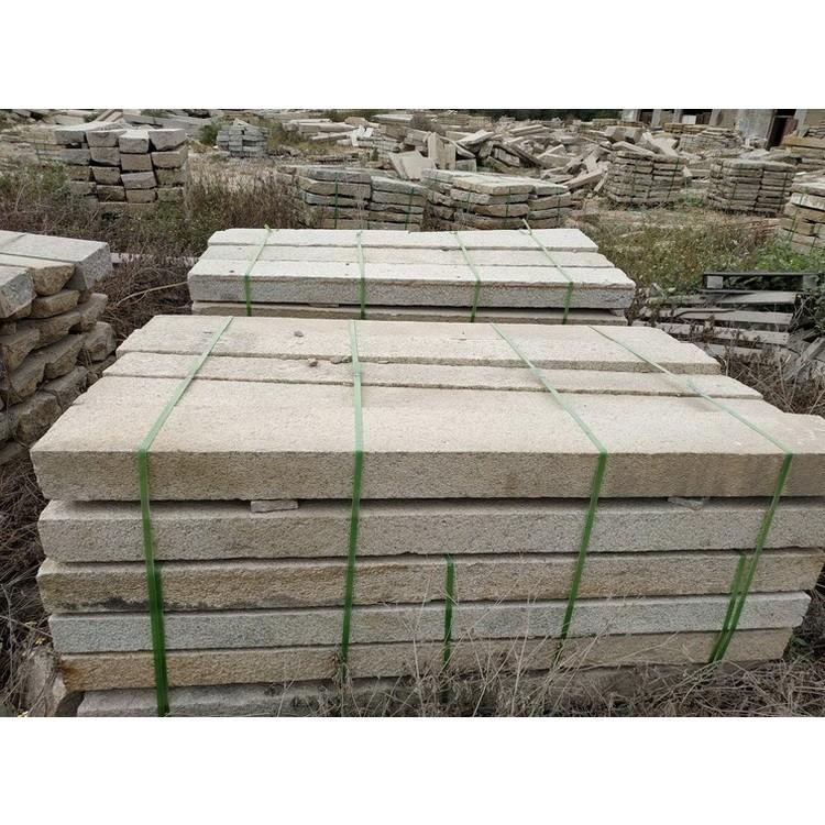 福建八山石材 门框石厂家直销  自然面老石板  长条形地铺石,