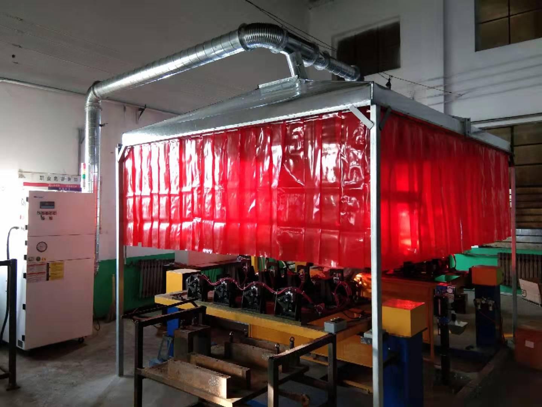 焊接机器人配套除尘设备  焊接机器人除尘器 焊接机器人罩口式除尘 焊接机器人配套除尘设备