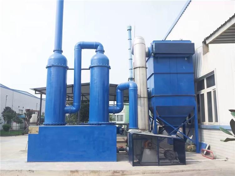 环保设备_PP水喷淋塔废气吸收塔废气处理洗涤塔氨气净化塔