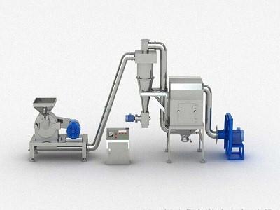 供应香辛料脉冲除尘粉碎机 调味料连续式磨粉机 不锈钢调料粉碎机