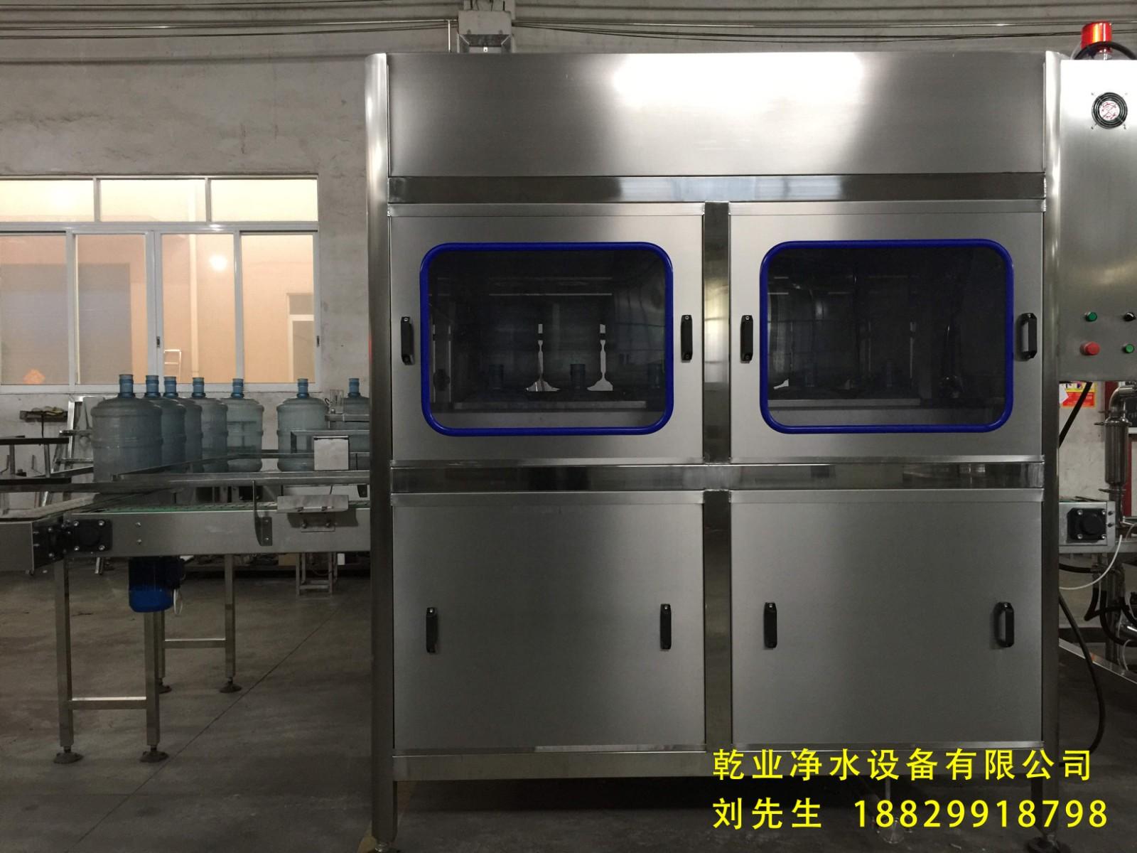 纯净桶装水生产线-厂家定制矿泉水罐装生产线 价格实惠可定制 德国技术纯净水生产线QY30