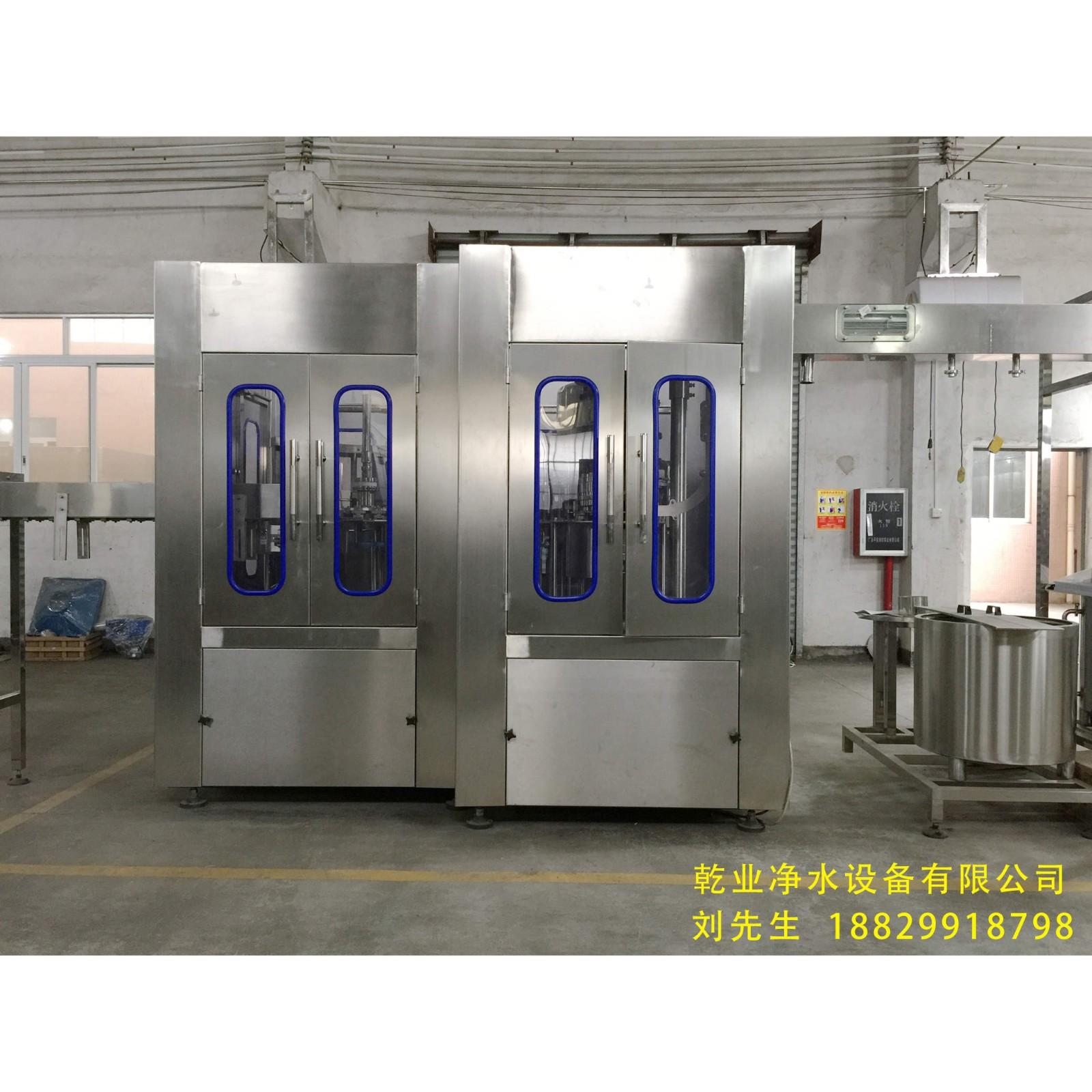 厂家直销 品牌桶装水生产线QY18 桶装纯净水灌装生产线 可定制