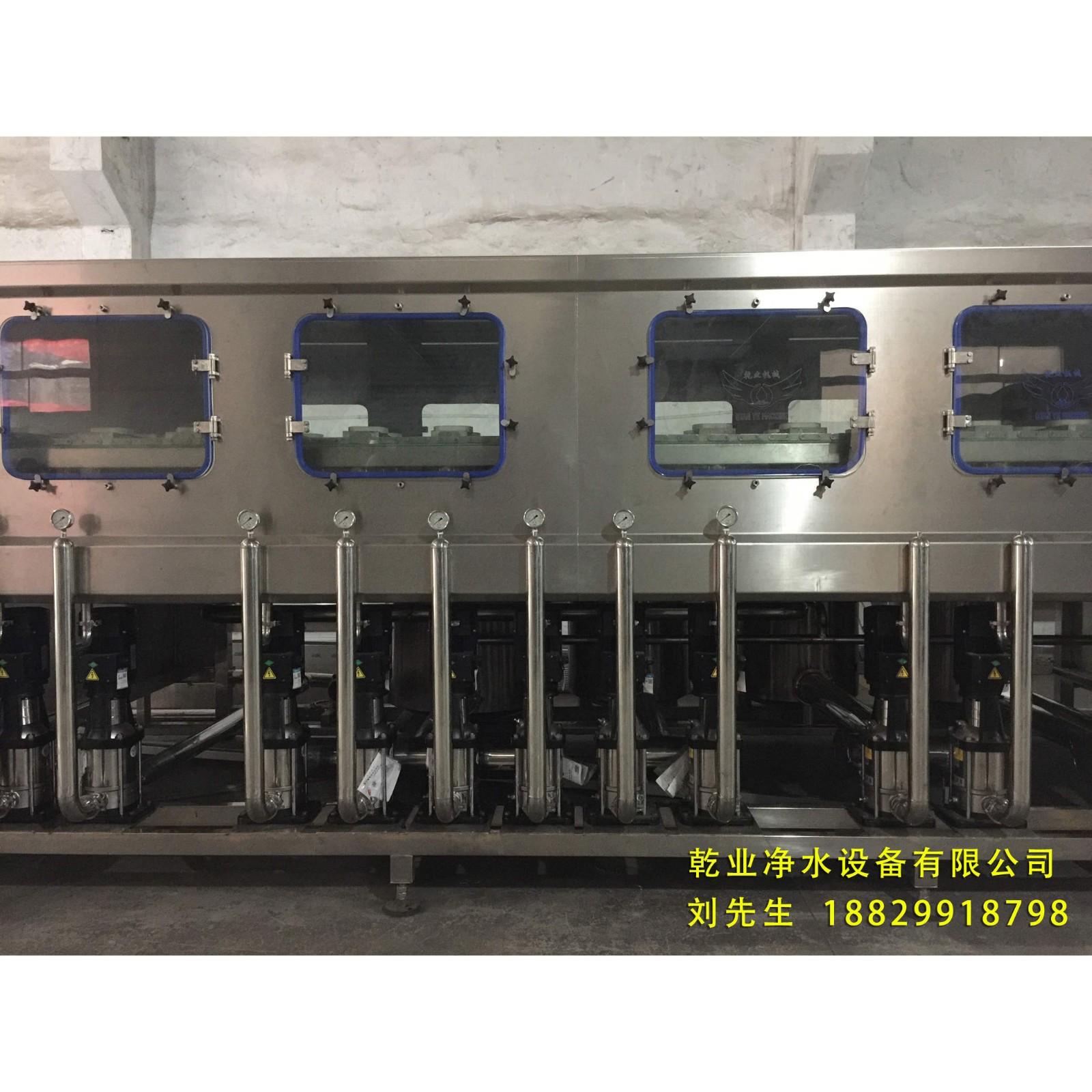厂家直销 桶装水灌装包装生产线-高端设备QY12桶装纯净水灌装生产线 可定制