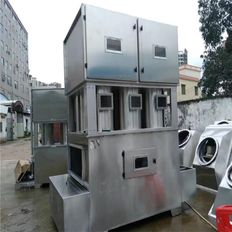 厂家直销万燊环保水旋漆雾废气净化柜WS-JHG-35实用喷漆设备废气漆雾净化设备实用型水漩柜现货销售
