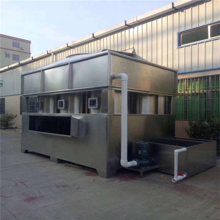 厂家直销万燊环保水旋漆雾废气净化柜WS-JHG-45实用喷漆设备废气漆雾净化设备实用型水漩柜现货销售