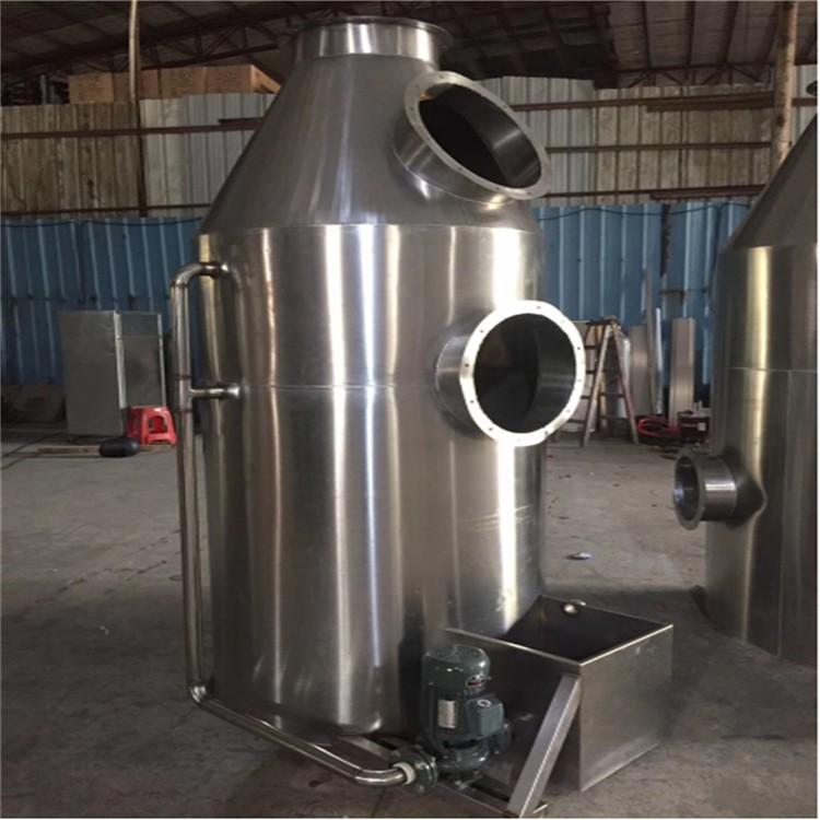厂家直销万燊201不绣钢环保喷淋洗涤塔 WS-BD-10000酸雾净化塔喷淋塔 废气处理设备现货销售