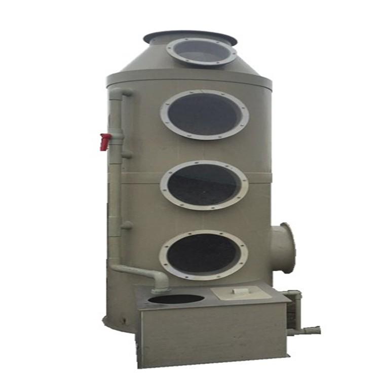 厂家直销万燊【201不绣钢】环保喷淋洗涤塔WS-BD-15000酸雾净化塔喷淋塔废气处理设备现货销售