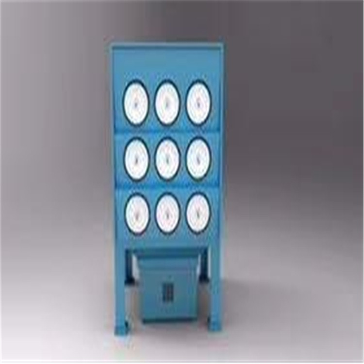 万燊环保 防爆脉冲滤芯除尘器WS-LX-12S 可定制风量  除尘器滤芯厂家 除尘滤芯