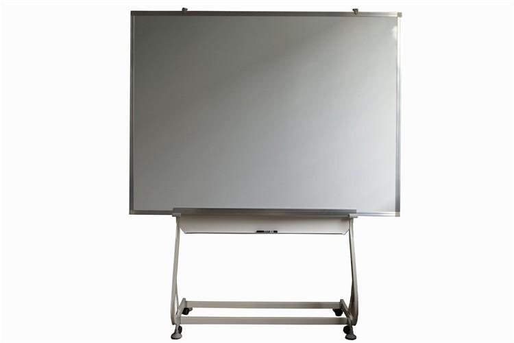 白板地式展示架 移动白板伸缩展示支架 办公会议教学落地式白板架
