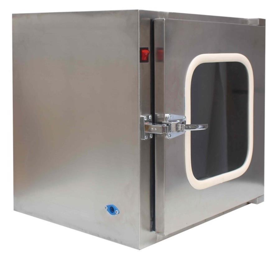 厂家直销不锈钢201洁净传递窗机械电子互锁紫外灯杀毒无菌304柜可定制