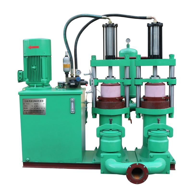 YB型陶瓷柱塞泵厂家直销 福建新裕压滤机专用泵