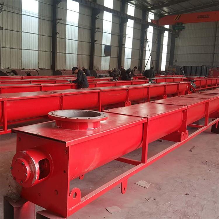 河北千瑞厂家供应 螺旋输送机 双轴螺旋输送机 木屑煤粉污泥砂石物料输送设备