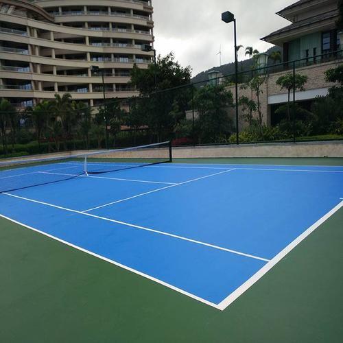 深圳市南山区学校硅pu篮球场地坪漆诚信施工