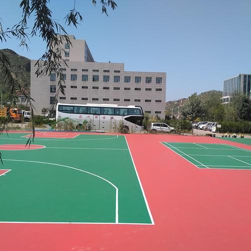 深圳市罗湖区学校硅pu篮球场地坪漆诚信施工