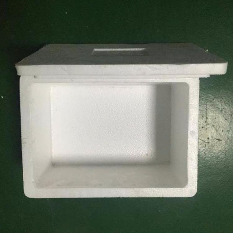 福建水果泡沫箱保鲜箱批发 白色eps4号水果泡沫箱保鲜箱 大闸蟹泡沫箱子冷藏箱 厂家定做