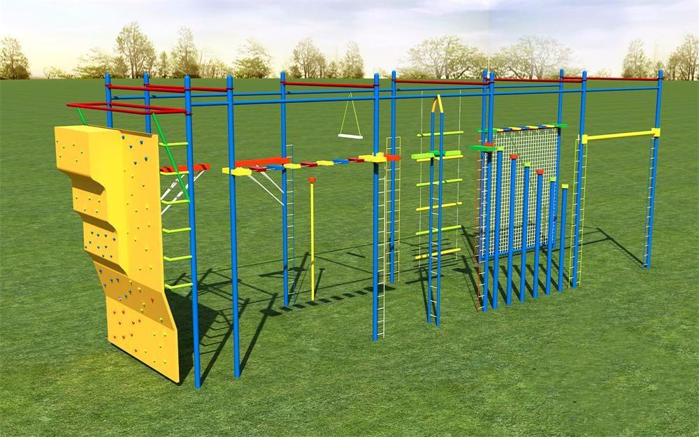 高空拓展设备心里素质培训部队训练器材断桥爬网攀岩墙多面体组合