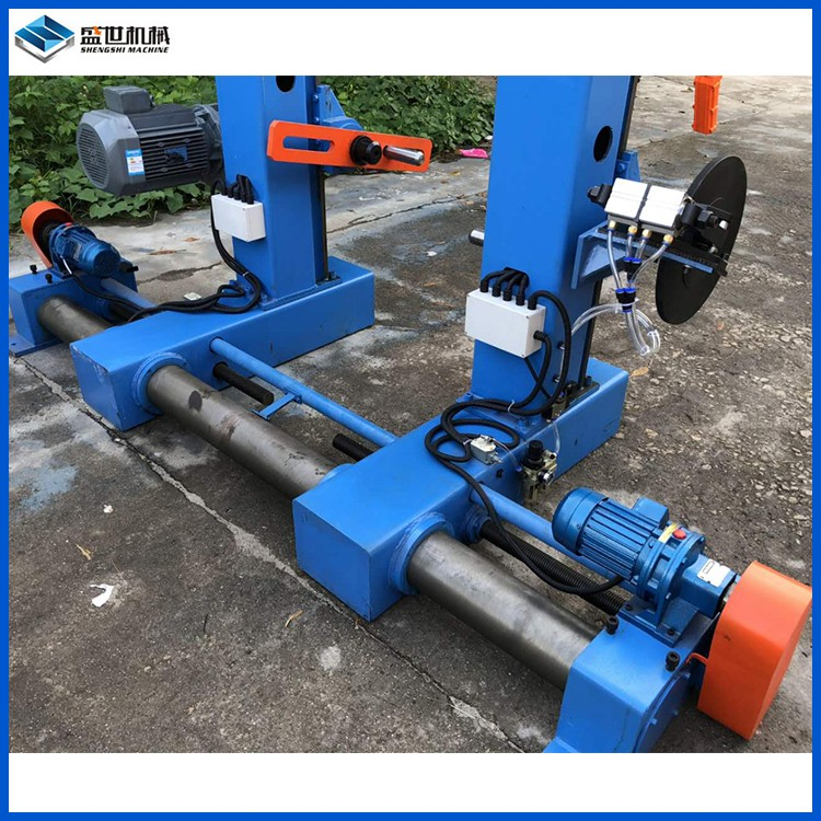 SM-1600W 大截面端轴式主动成圈机 盛世机械