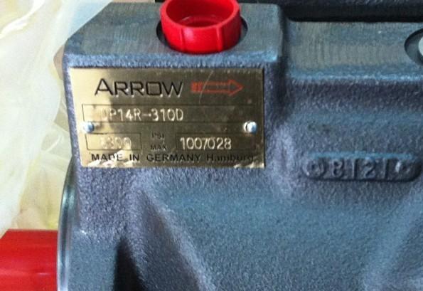 进口ARROW液压泵DP14R-310C ARROW箭牌变量柱塞泵DP14R310D