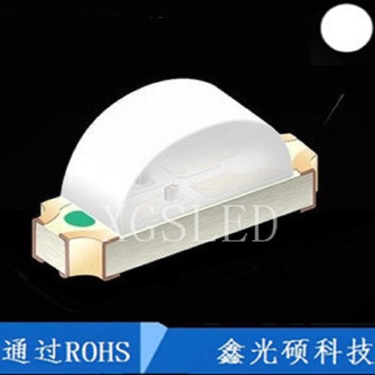 1206侧面白色 侧面白光 SMD LED贴片发光二极管1206侧发光 白光
