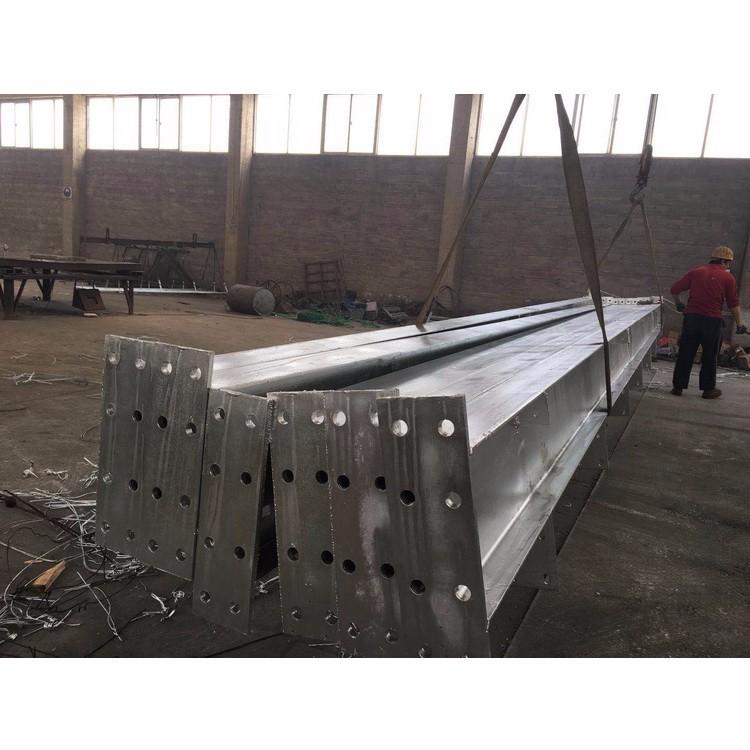 角钢塔镀锌加工 工字钢梁镀锌供应 大量供应铁件加工设备 定制铁件加工
