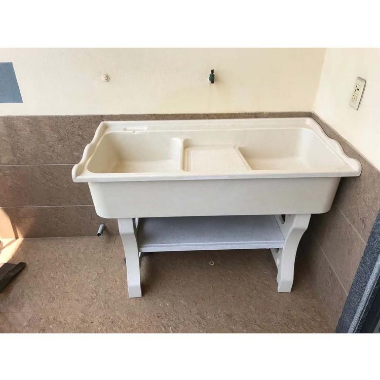 洗脸台盆 洗衣池生产厂家 石英石花岗岩阳台洗衣池 卫生间水槽洗衣槽