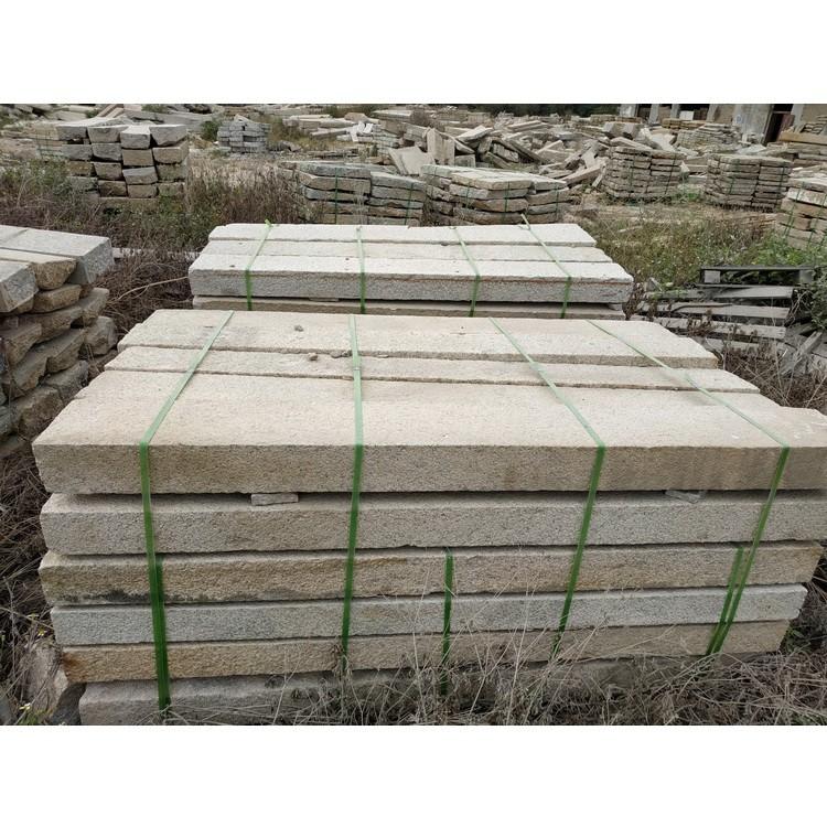 厂家直销 地铺石 长条地铺石 台阶石头 石材石料现货供应