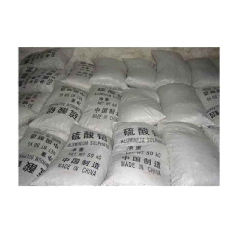 硫酸铝污水处理、饮用水处理、造纸施胶、水泥添加剂,也用作沉淀剂、固色剂、填充剂