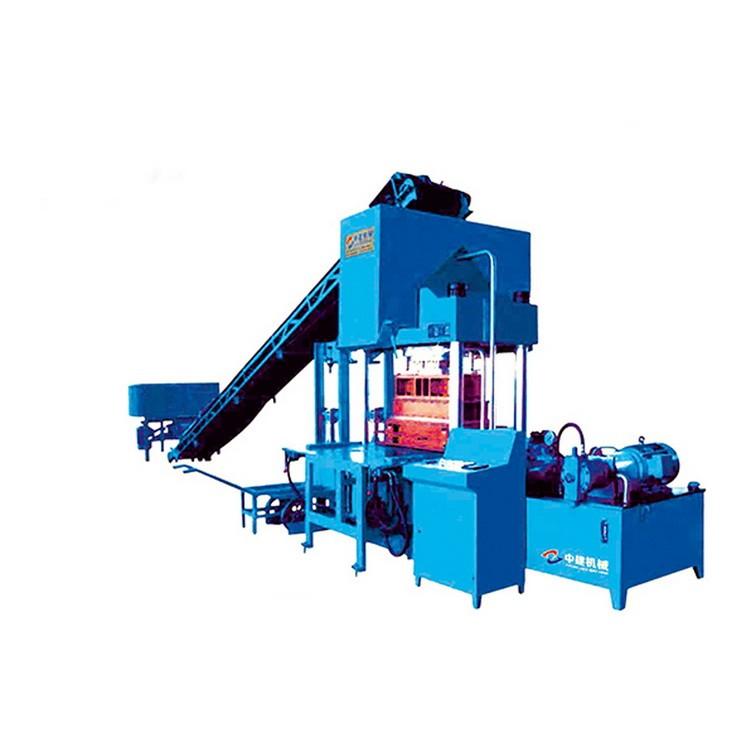 中建机械厂   ZJY4500型路沿石/路面砖液压成型机 专门制作路面石 路沿石