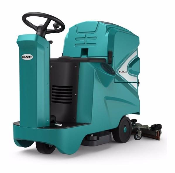 厦门洗地机RACE100/70D驾驶式全自动洗地机