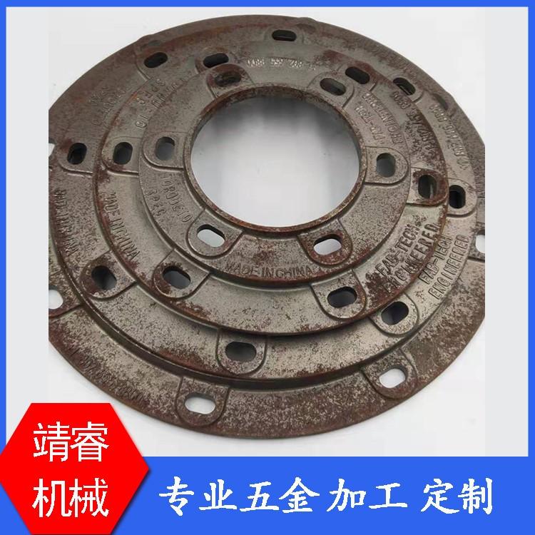 靖睿机械厂家直销法兰盘配件 厂家直销规格型号可定制