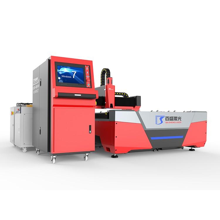 广东佛山百盛激光厂家直销F3015E双驱光纤激光切割机适用于不锈钢镀锌板碳钢铝合金等多种金属切割