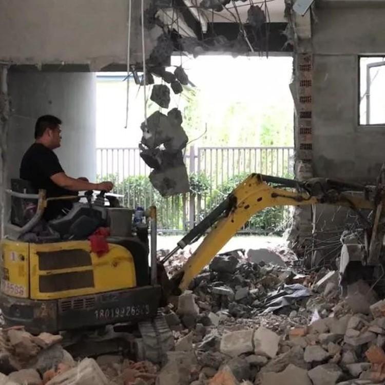 室内回填小型挖掘机出租