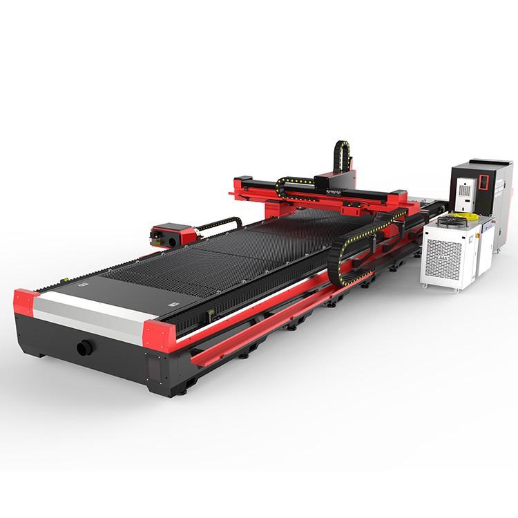 广东佛山百盛激光厂家直销F6015BE板管两用快速切割各类金属板材管材双驱光纤激光切割机