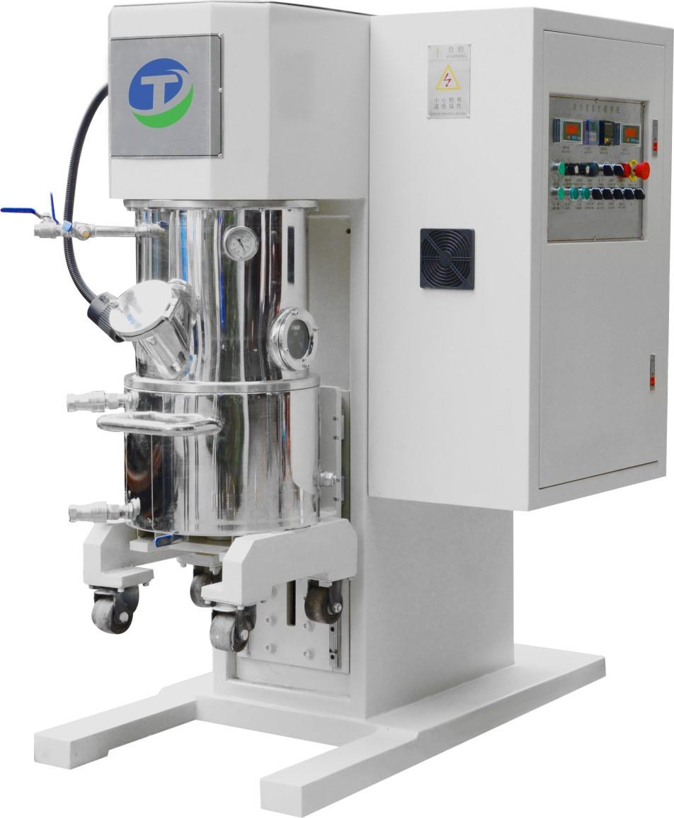 30L搅拌压料一体机 双行星真空动力混合机 干粉混合机立式厂家