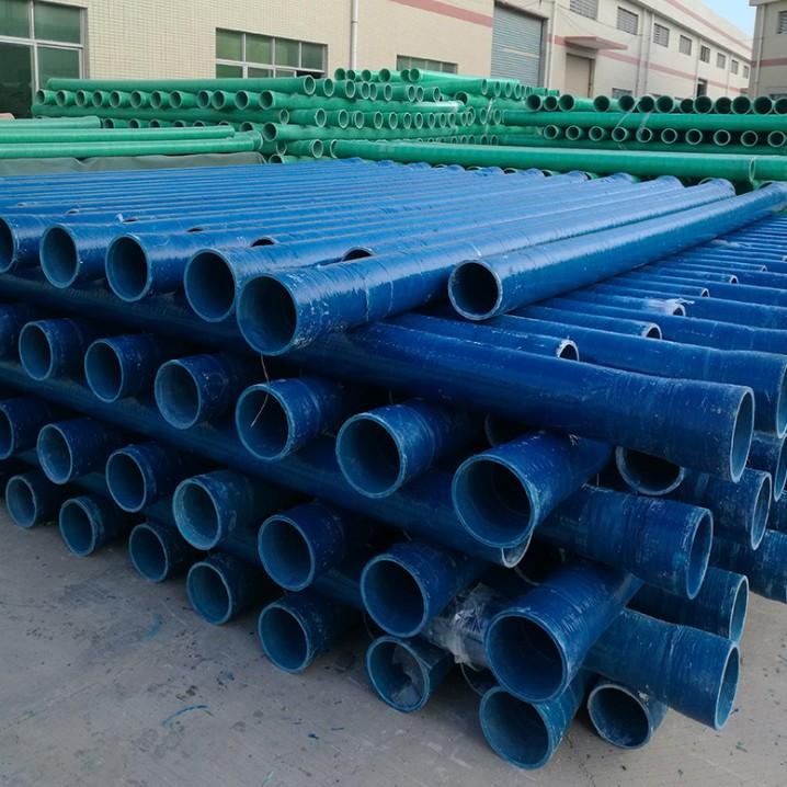 电缆保护玻璃钢管厂家直销 通信电缆管 高压玻璃钢电力管批发价格
