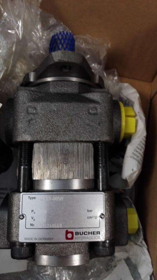 寿命长布赫液压齿轮油泵 QX24-003R06 进口布赫液压齿轮油泵 现货Bucher液压齿轮油泵