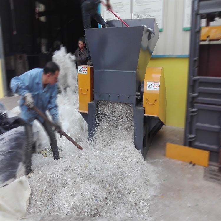 废料回收设备  PET矿泉水瓶破碎清洗线 塑料瓶中空料破碎机组 塑料破碎机 产家价钱 优惠直销