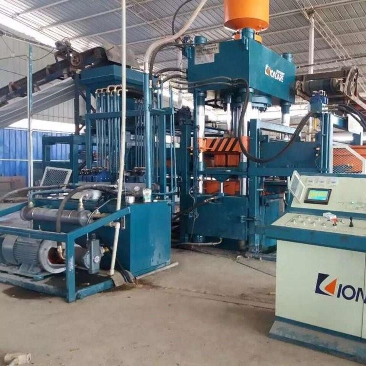 湖北荆州路沿石砖机 供应数控双向液压成型机 联达QYJ-10000B型路沿石砖机