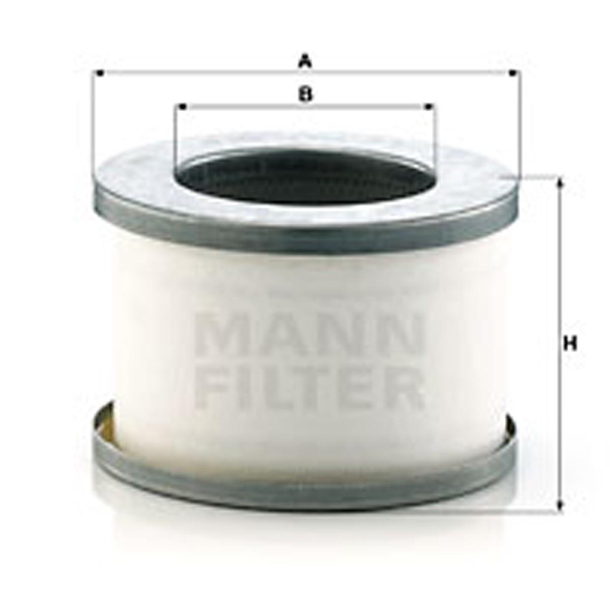 MANN-FILTER 曼牌滤清器 4930053291、4930052291、LE5008 油分芯