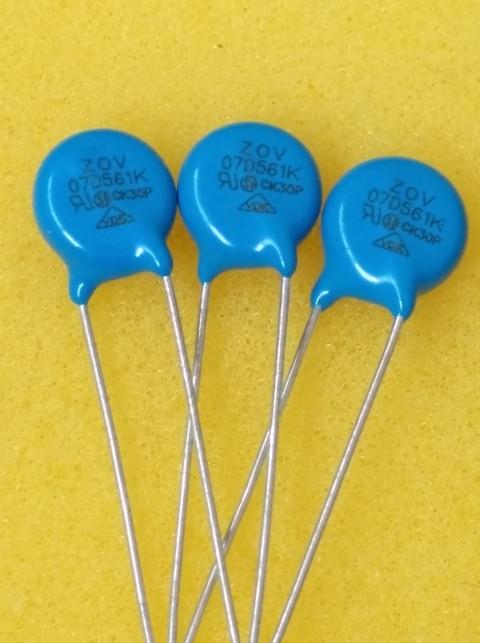 厂家批发 压敏电阻 7D561K 精选专业电阻厂家 电阻元件
