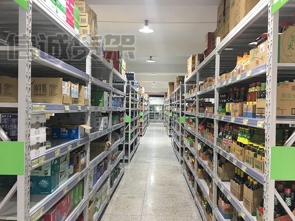 珠海仓库货架五金纸盒包装库房货架厂家货架送货安装