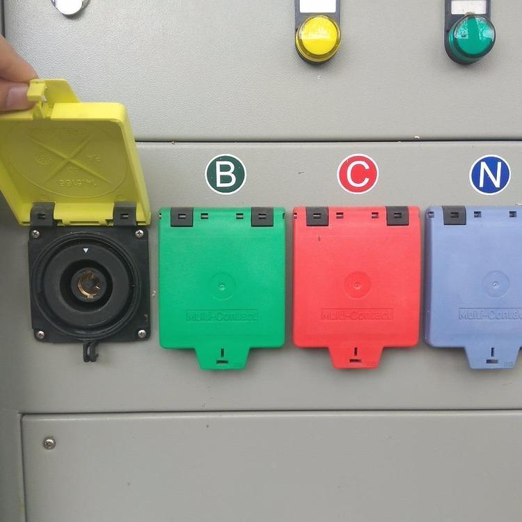 发电车快速接入插座 低压应急快速接入插座 低压应急快速接入 应急电源接口 低压应急电源接口