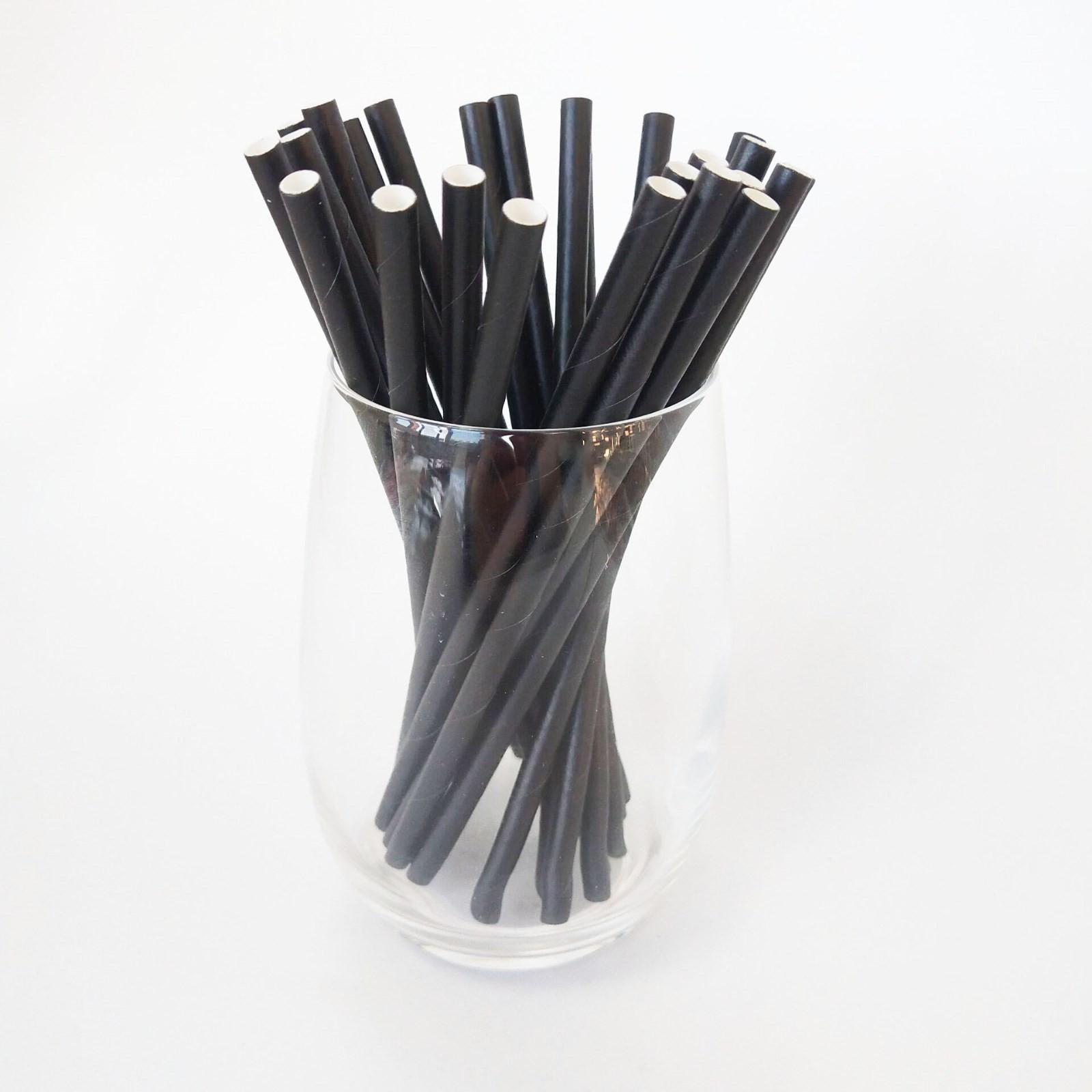厂家批发供应三层平口直管可独立包装12*240纸吸管